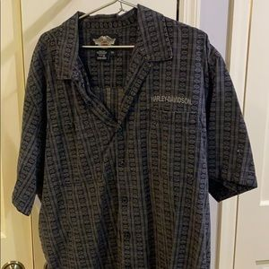 Harley Davidson button down shirt 2XL /XXL